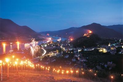 Feuerzauber in der Wachau