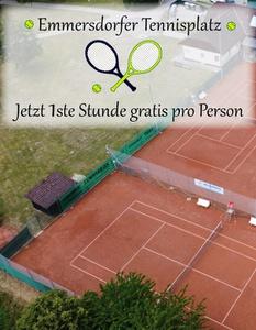 NEU auf dem Tennisplatz