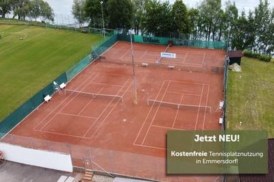 Tennisplatzbenutzung in Emmersdorf
