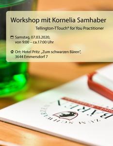 Workshop mit Kornelia Samhaber
