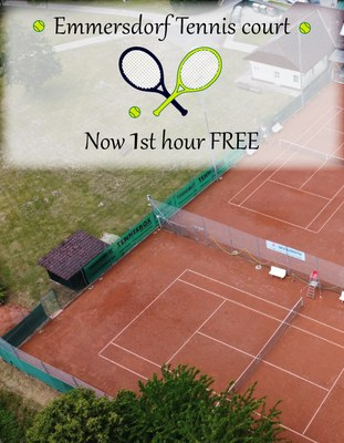 NEW on the tennis court